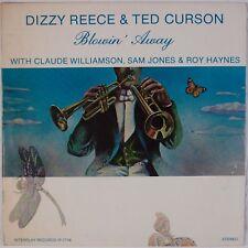 DIZZY REECE, TED CURSON: Blowin' Away USA Interplay Jazz Roy Haynes LP NM Wax