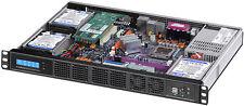 "1U(Maximum 12 x 2.5"" SSD HDD)(Rackmount Chassis)(Micro-ATX/ ITX) D12.6"" Case NEW"