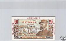 GUADELOUPE SPECIMEN 20 FRANCS EMILE GENTIL ND (1947) PICK Cf 33 !!!!