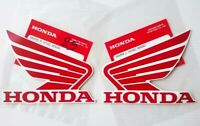 ma300ZE RED Genuine Honda Fuel tank wing decals wing 2Pcs