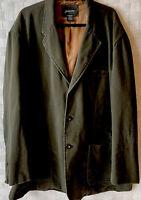 NWOT St John's Bay mens Casual Blazer Jacket GREEN Dark Spruce 3XLT FIELD