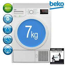 Beko Trockner A++ Wärmepumpentrockner Wäschetrockner DPS 7405 W3 7kg 2ML