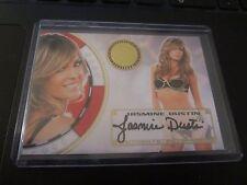 Jasmine Dustin Autographed 2012 Vegas Baby Bench Warmer Benchwarmer Trading Card