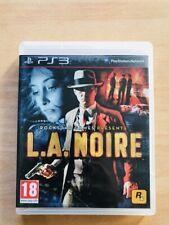 Jeu LA Noire L.A  Sony Playstation 3 PS3
