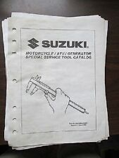 Suzuki Motorcycle Atv Generator Tool Catalog Manual Gsx Gv Vx
