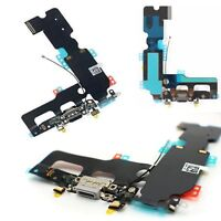 iPhone 7 Plus Charging Port - Replacement Charger Flex Cable USB Dock Mic -Black