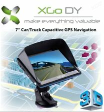 "XGODY 7"" inch LCD Motorcycle/Car GPS Navigation SAT NAV- Maps 8GB SpeedCam UK/EU"