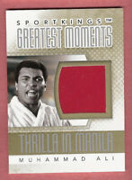 MUHAMMAD ALI WORN BOXING TRUNKS Sportkings only 20 made MEMORABILIA RELIC CARD