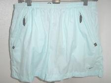 Womens Nike Vented Running Tennis Athletic Shorts 3 Zip Pockets Sz Medium (8-10)