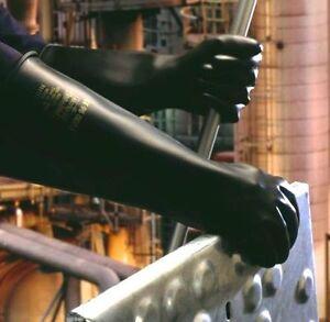 Marigold ME104 Emperor Medium Weight Rubber Glove Gauntlets - 17 inch