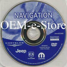 2004 2005 2006 Jeep Liberty & Grand Cherokee SRT8 Overland Navigation DVD Map AD