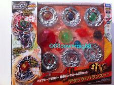 Takara Tomy Zero-G Beyblade BBG24 Ultimate Synchrom DX Set Attack & Balance Type