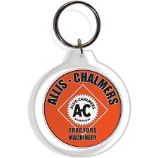 Allis Chalmers Garden Farm Tractor Keychain Key Chain Ring Machinery Gift Parts