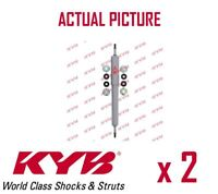 2 x FRONT AXLE SHOCK ABSORBERS PAIR STRUTS SHOCKERS KYB OE QUALITY 554112