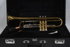Jupiter STR-800 Trumpet with Case - Made by K.H.S. Musical Instrument Co. Ltd.