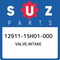 12911-15H01-000 Suzuki Valve,intake 1291115H01000, New Genuine OEM Part