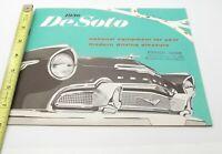 Vtg 1956 DeSoto Sales Brochure Litho Sportsman Fireflite Firedome