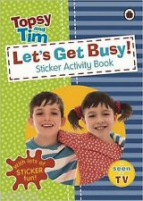 Let's Get Busy!: A Ladybird Topsy and Tim Sticker Activity Book - New Book