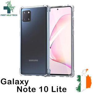 Samsung Galaxy Note 10 Lite Case Cover ShockProof Soft Bumper Clear TPU Silicone
