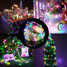10M USB 100LEDs Silver Wire String Fairy Light Strip Lamp Xmas Party Waterproof