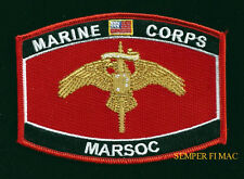 MARSOC SEMPER FI HAT PATCH US MARINES PIN UP SPECIAL OPERATIONS COMMAND VETERAN