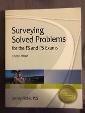 Surveying Solved Problems for the FS and PS Exams (USED - LIKE NEW!)