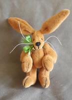 "🐇 Süßer Mini-Hase ""Scooby"" von Nicola Clare, Unikat OOAK, ca. 6 cm 🐇 aus USA🐇"
