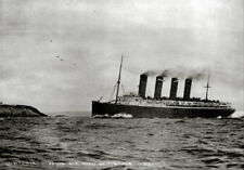 Lusitania at Sea 1911 Art Print