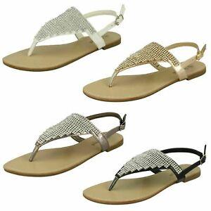 Ladies Savannah Toe Post Sandals F0R827