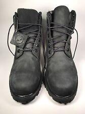 Timberland Men's 6 inch Premium Waterproof Black Boots 10073 Size: 10.5