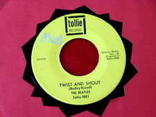 BEATLES~ TWIST AND SHOUT~ VG+~THERE'S A PLACE~ TOLLIE~ 9001~~ POP 45