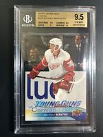 2016-17 Anthony Mantha Young Guns Canvas Rookie BGS 9.5