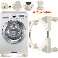 Universal Adjustable Washing Machine Fridge Base Laundry Pedestal Raised Stand
