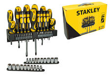 Stanley Set 57 giraviti cacciaviti inserti bussole porta inserti STHT0-62143