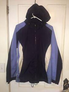 Womens Jacket SJB ACTIVE size Medium purple hooded coat Ski Snowboard Jacket