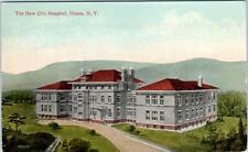 ITHACA, New York  NY   NEW CITY HOSPITAL  ca 1910s    Postcard