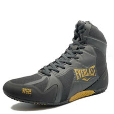 Everlast Ultimate Pro Boxing Boots (Shoes) Boxerstiefel Boxschuhe Black Elm-94E