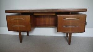 G plan Vintage fresco mid-century teak desk / dressing table