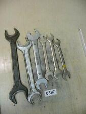 0397. Konvolut alte Schraubenschlüssel Gabelschlüssel 2,2 kg