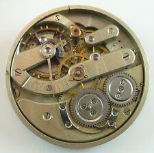 Partial High-Grade Swiss Pocket Watch Movement - Hunting Configuration