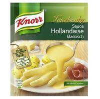 12 x KNORR HOLLANDAISE SAUCE SOSSE GRAVY - TASTY  - ORIGINAL FROM GERMANY