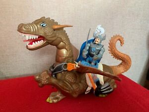 BRONZE DRAGON And STRONGHEART Advanced Dungeons And Dragons COMPLETE LJN Toy VGC