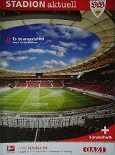 Programm 2011/12 VfB Stuttgart - FC Schalke 04