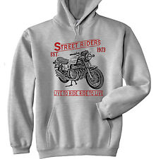 BENELLI 750 SEI - GREY HOODIE - ALL SIZES IN STOCK