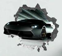 Lamborghini Aventador Car Custom Wall Decals 3D Wall Stickers Art VIC08