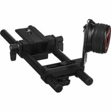 Opteka FF-240 Gearless Follow Focus Rig with 15mm Rails for DSLR and Mirrorless