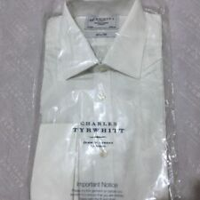 Charles Tyrwhitt Double Cuff Machine Washable Formal Shirts for Men