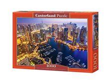 """Castorland Puzzle 1000Pieces Dubai at Night 68x47cm 27""""x18.5"""" Sealed box C103256"""