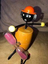 Egg Timer A Superb Retro Black Figural Egg Timer Metal,Wood & Plastic