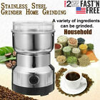 Electric Spice Coffee Nut Seed Herb Grinder Crusher Mill Blender Steel 110V USA